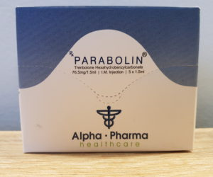 Alpha Pharma Parabolin Dosage Quantification Lab Results [PDF]