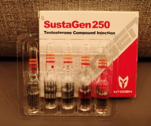 MyoGen Sustagen 250 Dosage Quantification Lab Results [PDF]