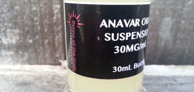 Primo of the Gods Anavar Oral Suspension Lab Test Results