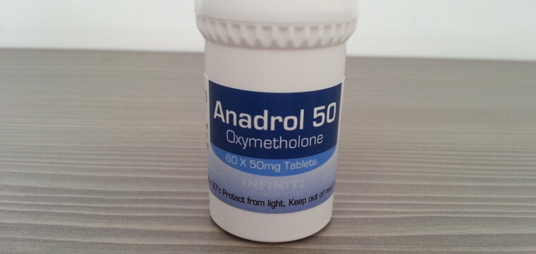 Infiniti Labs Anadrol 50 Dosage Quantification Lab Results [PDF]