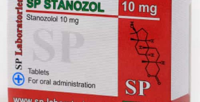 SP Laboratories Stanozol Lab Test Results