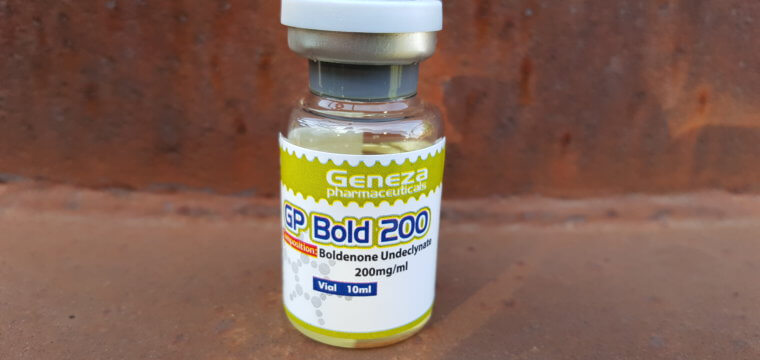 Geneza Pharmaceuticals GP Bold 200 Lab Test Results