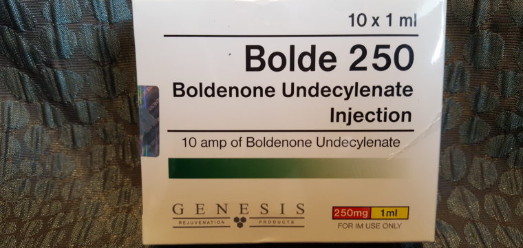 Genesis Bolde 250 Dosage Quantification Lab Results [PDF]