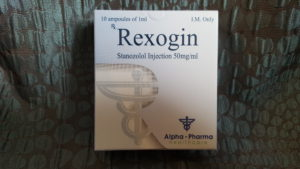 Alpha Pharma Rexogin (stanozolol)