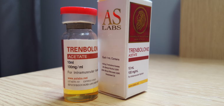 AS Labs Trenbolone Acetate Lab Test Results