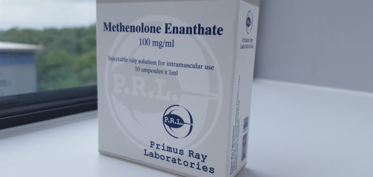 Primus Ray Laboratories Methenolone Enanthate Dosage Quantification Lab Results [PDF]