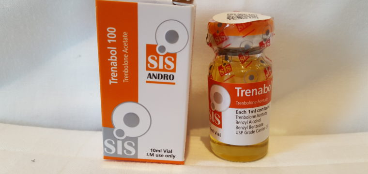 SIS Laboratories ANDRO Trenabol 100 Lab Test Results