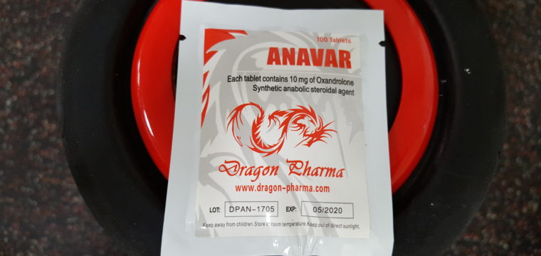 Dragon Pharma Anavar Dosage Quantification Lab Results [PDF]