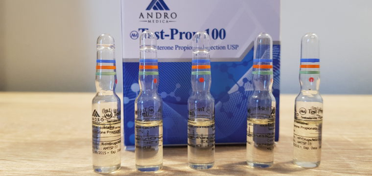Andromedica Test-Prop 100 Lab Test Results