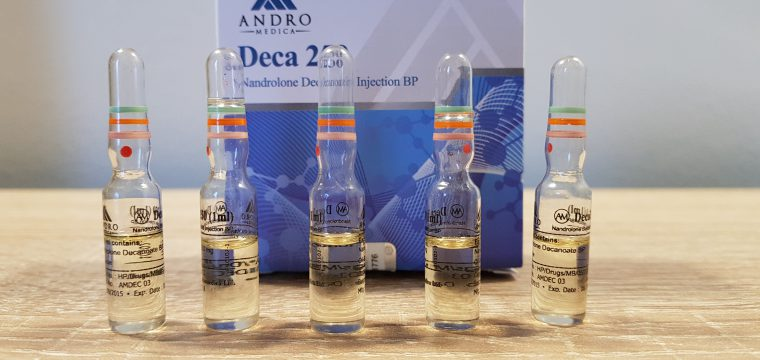Andromedica Deca 250 Lab Test Results