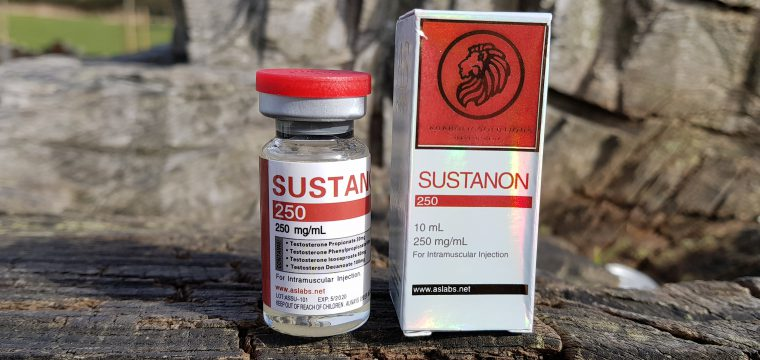 AS Labs Sustanon 250 Lab Test Results
